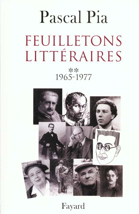 Feuilletons Litteraires - Tome 2 - 1965-1977