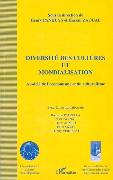 Diversite des cultures et mondialisation