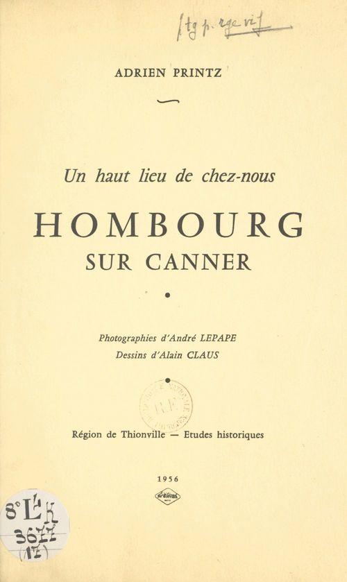 Hombourg sur Canner