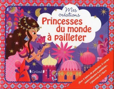 Princesses du monde à pailleter