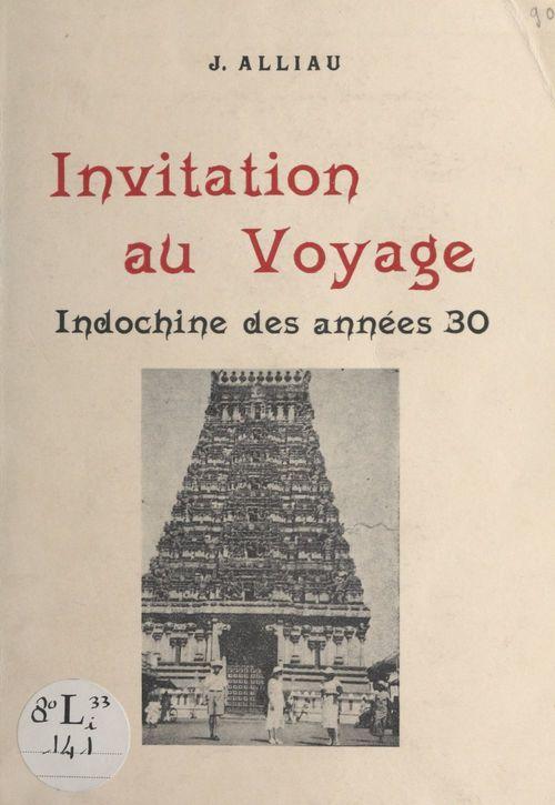 Invitation au voyage  - Jeanne Alliau