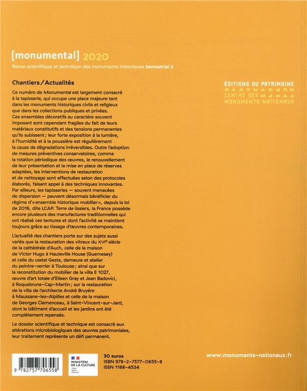 MONUMENTAL n.2020/2 ; la tapisserie