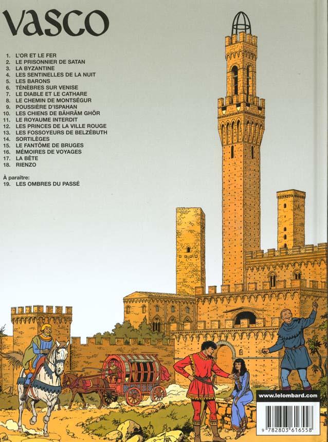 Vasco t.7 ; le diable et le Cathare