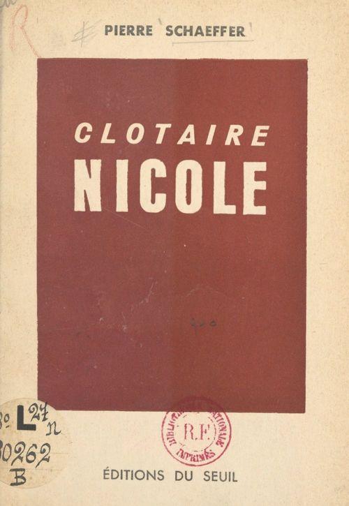 Clotaire Nicole