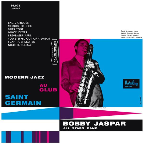 modern jazz au Club Saint Germain - Barclay 84.023