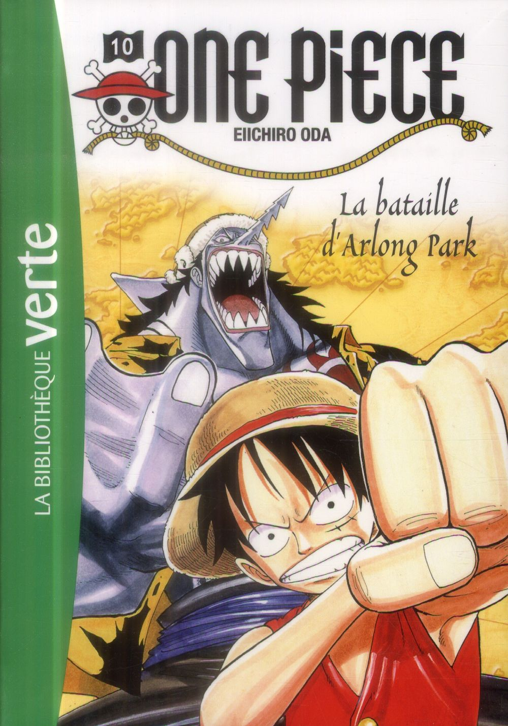 One Piece T.10 ; La Bataille D'Arlong Park