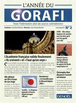 Couverture de L'année du gorafi t.2 ; toute l'information selon des sources contradictoires
