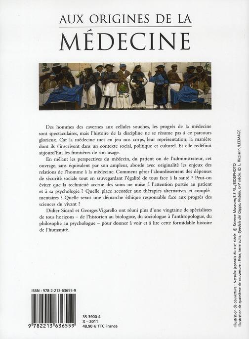 Aux origines de la médecine