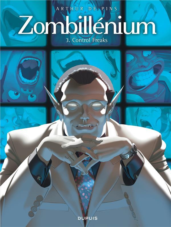 ZOMBILLENIUM T.3  -  CONTROL FREAKS Pins Arthur de