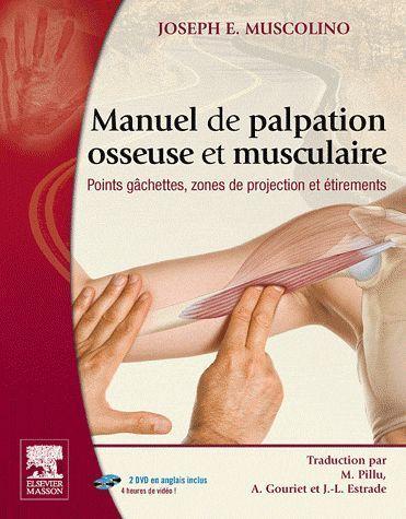 Manuel De Palpation Osseuse Et Musculaire ; Points Gachettes, Zones De Projection Et Etirements