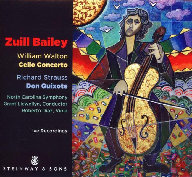 Walton : concerto pour violoncelle - Strauss : Don Quixote