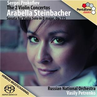 concertos pour violon n°1 & 2, sonate pour violon seul op.115