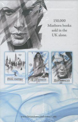 THE MISTBORN TRILOGY BOXED SET - THE FINAL EMPIRE. THE WELL OF ASCENSION. THE HERO OF AGES