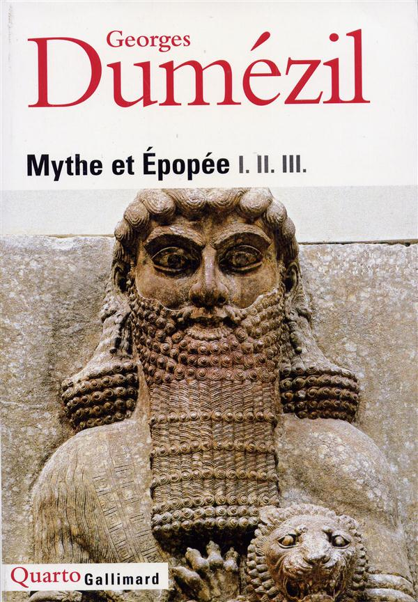Mythe et epopee