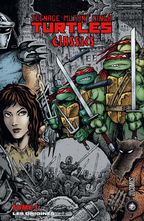 les Tortues Ninja - TMNT classics t.1 ; les origines