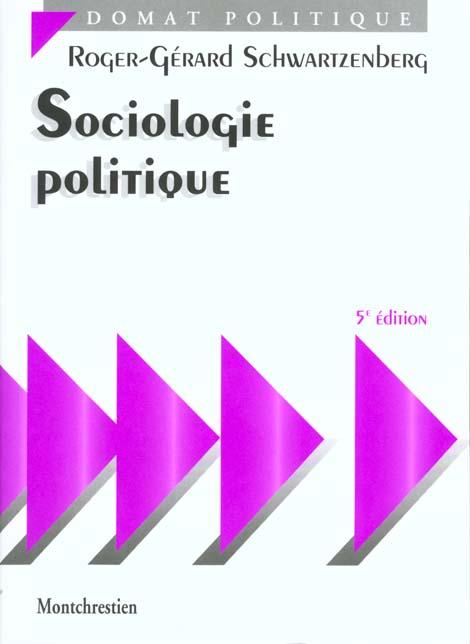 Sociologie Politique - 5eme Edition
