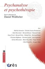 Vente EBooks : Psychanalyse et psychothérapie  - Daniel WIDLOCHER