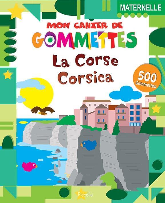 MON CAHIER DE GOMMETTES REGION