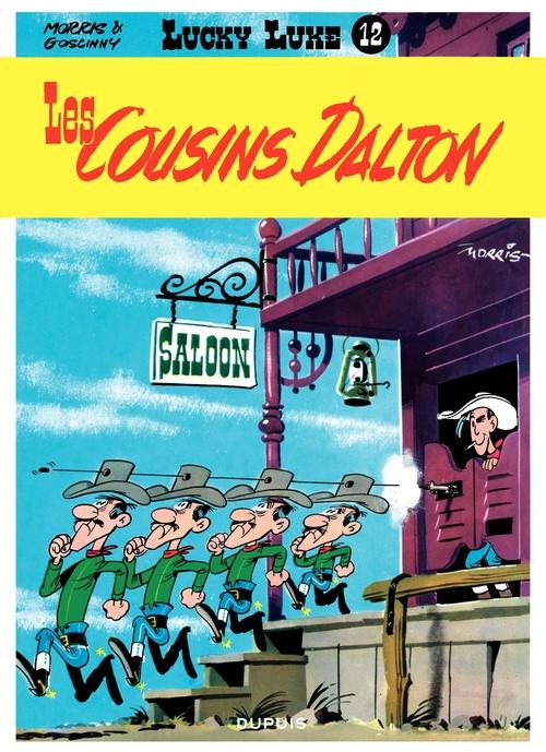 Lucky Luke T.12 ; les cousins Dalton
