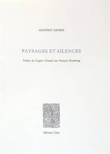 Paysages et silences