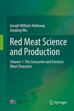 Red Meat Science and Production  - Joseph William Holloway - Jianping Wu