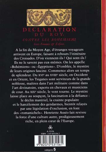 histoire - t218 - les tsiganes - une destinee europeenne