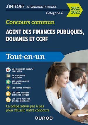Concours commun Agent des finances publiques, douanes et CCRF - 2020-2021
