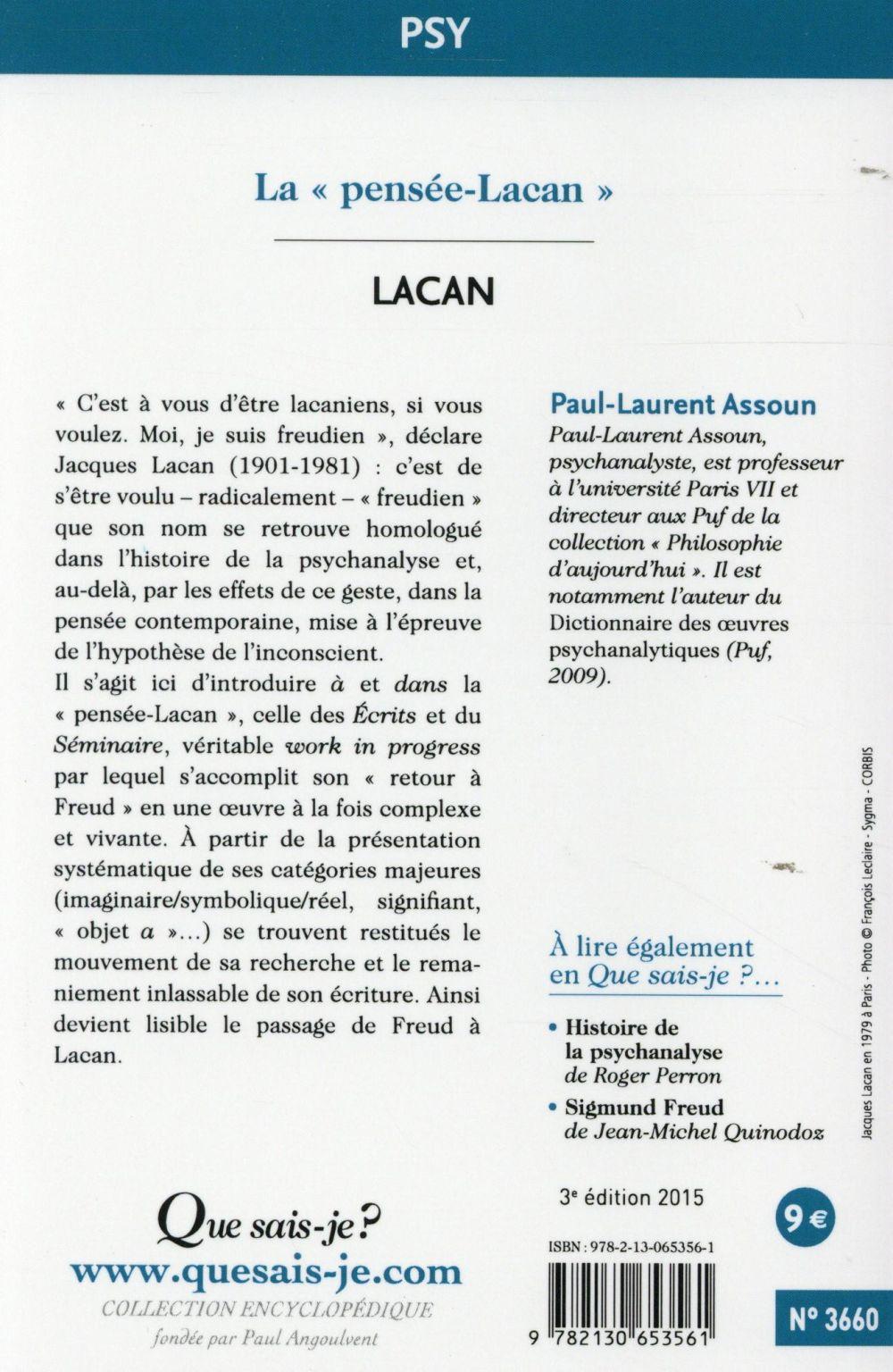 Lacan (3e édition)