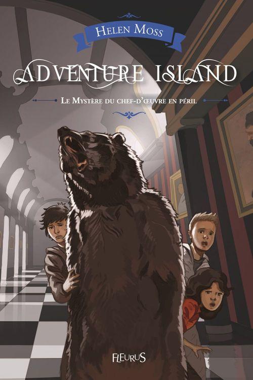 Adventure island ; le mystère du chef-d'oeuvre en péril