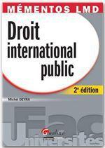 Vente Livre Numérique : Mémentos LMD. Droit international public - 2e édition  - Michel Deyra