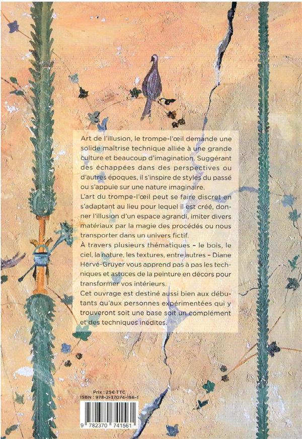 L'art et la manière ; guide pratique sur les décors peints en trompe-l'oeil