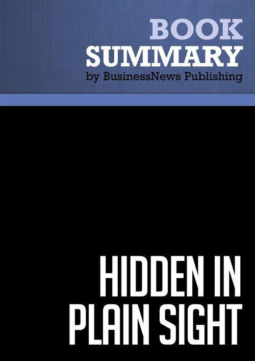 Summary: Hidden in Plain Sight - Erich Joachimsthaler