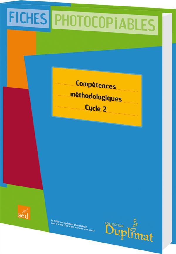 DUPLIMAT ; cycle 2 ; compétences méthodologiques