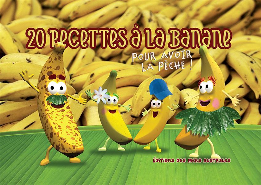 20 recettes à la banane