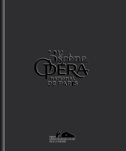 3e scène ; Opéra National de Paris