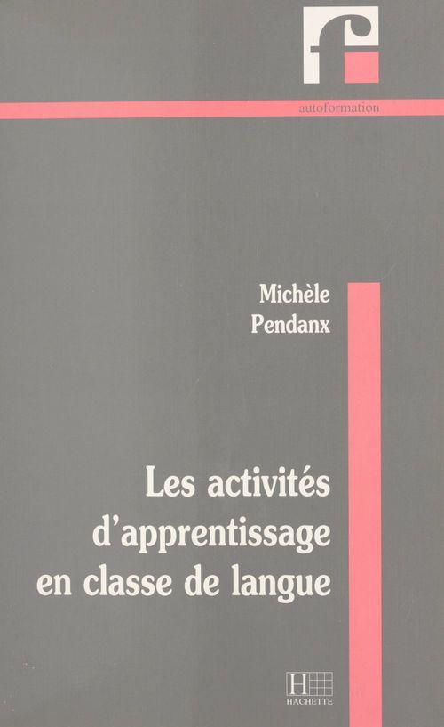 Activités d'apprentissage en classe de langue