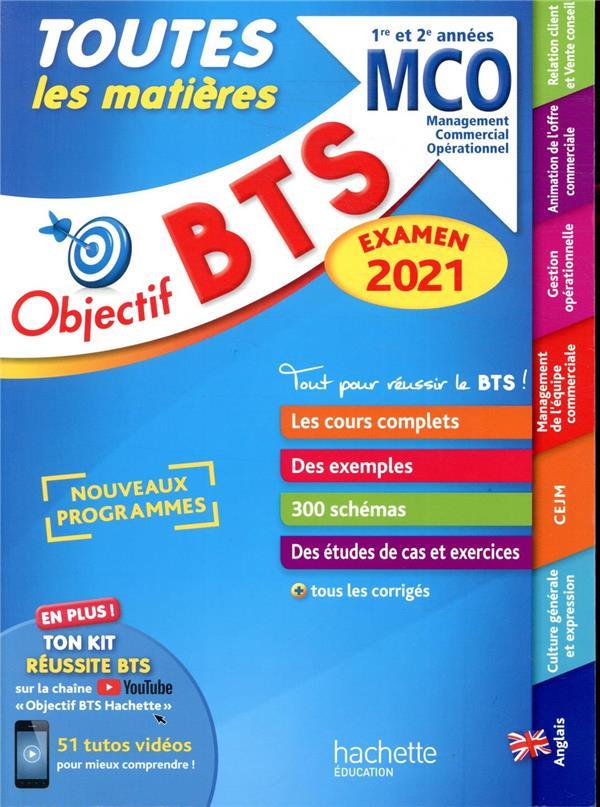 Objectif BTS ; toutes les matières ; BTS MCO, 1re et 2e années (édition 2021)