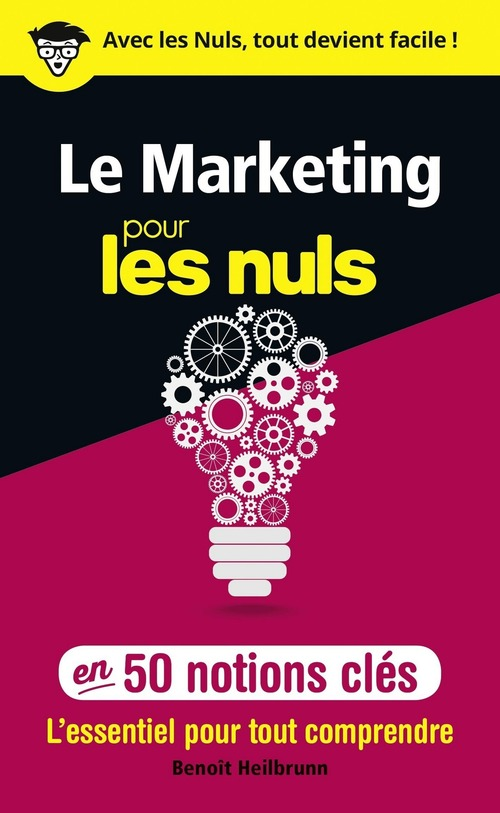Le marketing pour les nuls ; en 50 notions clés