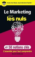 Vente EBooks : Le marketing pour les Nuls en 50 notions clés  - Benoît HEILBRUNN