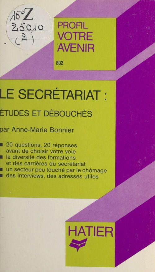 Le secrétariat : études et débouchés