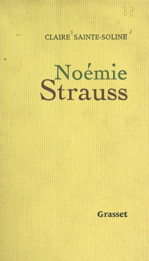 Noémie Strauss  - Claire Sainte-Soline