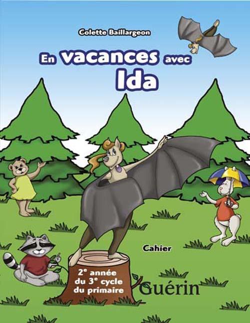 en vacances avec Ida ; cahier de révision 6e année ;6ème