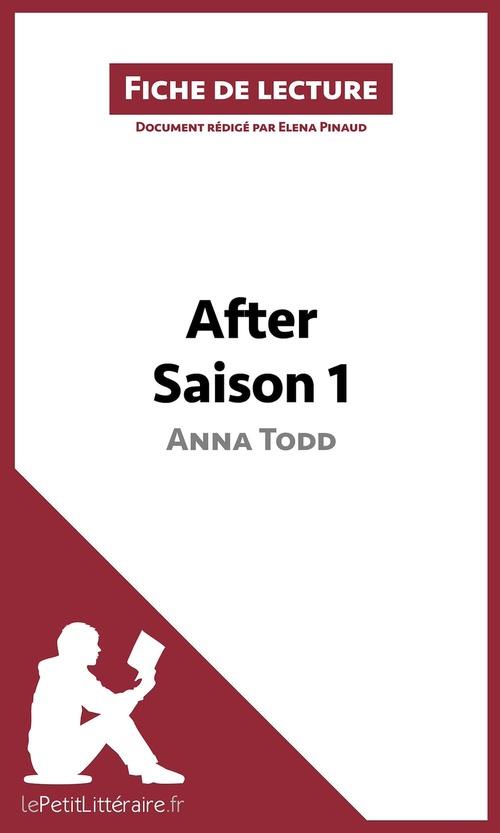 fiche de lecture ; after d'Anna Todd ; Saison 1 ; résumé complet et analyse détaillée de l'oeuvre