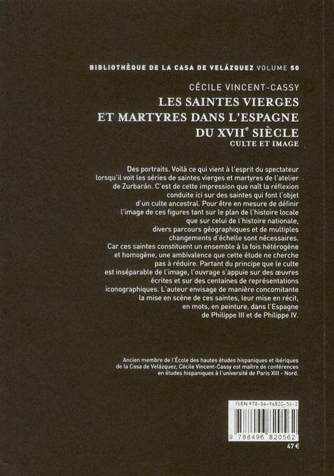 Les saintes vierges et martyres dans l'Espagne du XVIIe siècle