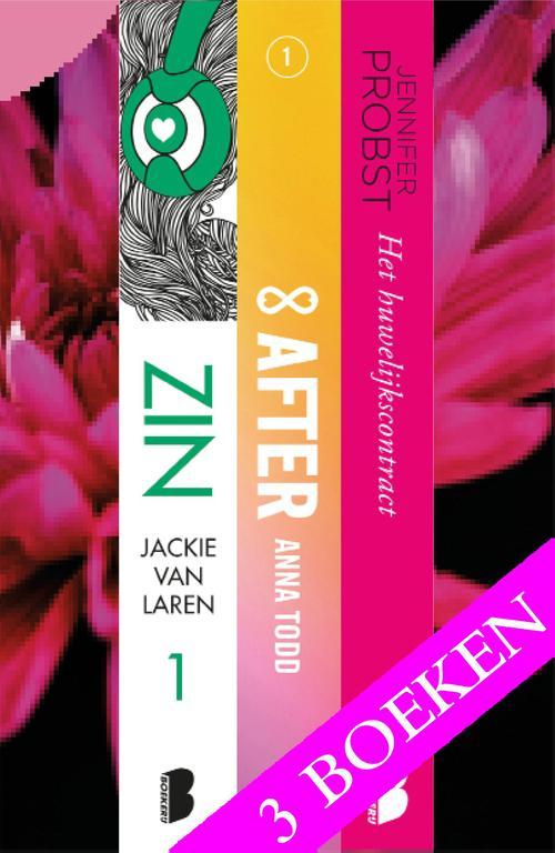 Zinderende liefdesromans, 3-in-1 bundel