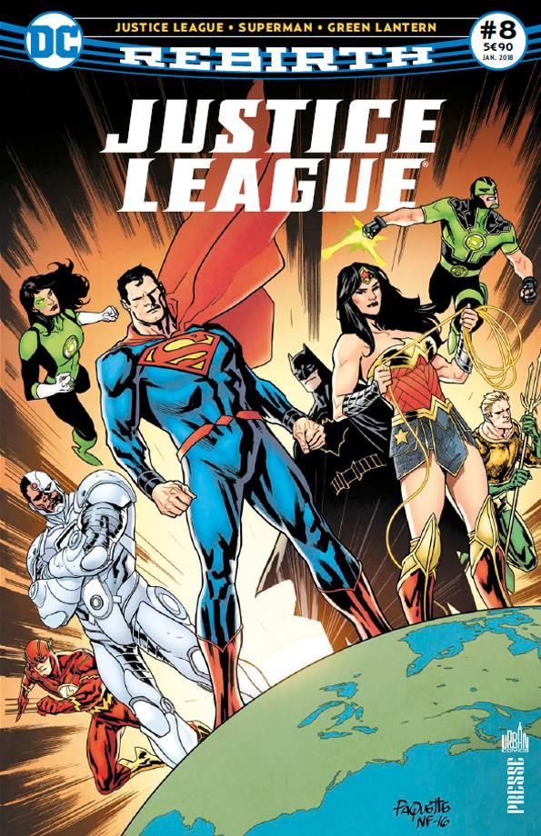 Justice league rebirth n.8 ; les lascars reviennent a central city !