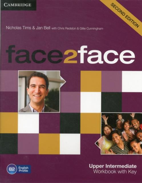 Face2Face Second Edition Workbook With Key Upper Intermediate
