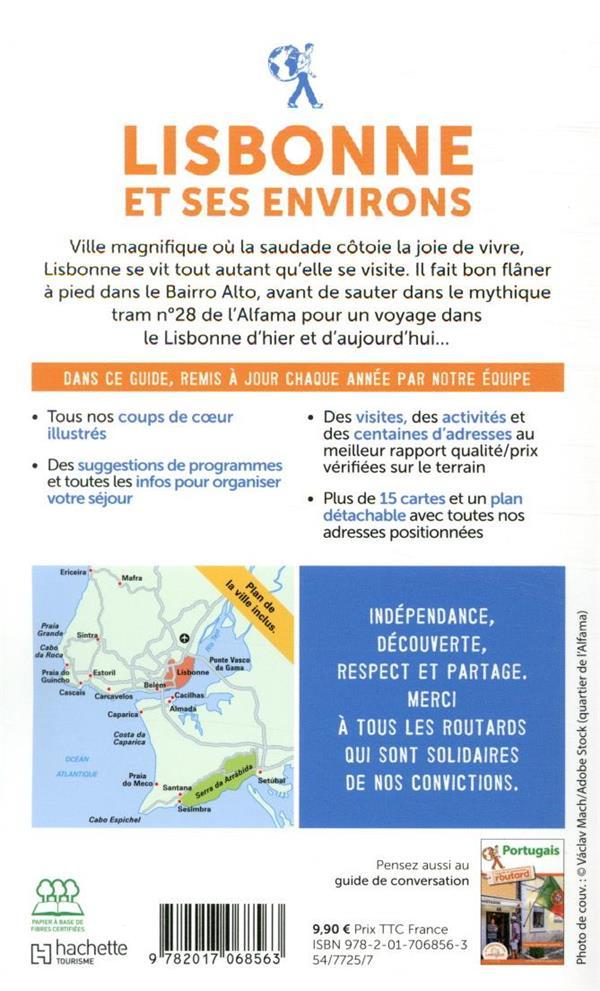 Guide du Routard ; Lisbonne et ses environs (édition 2020)