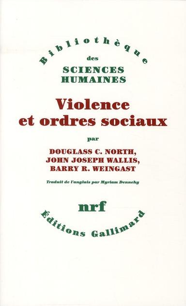 Violence et ordres sociaux