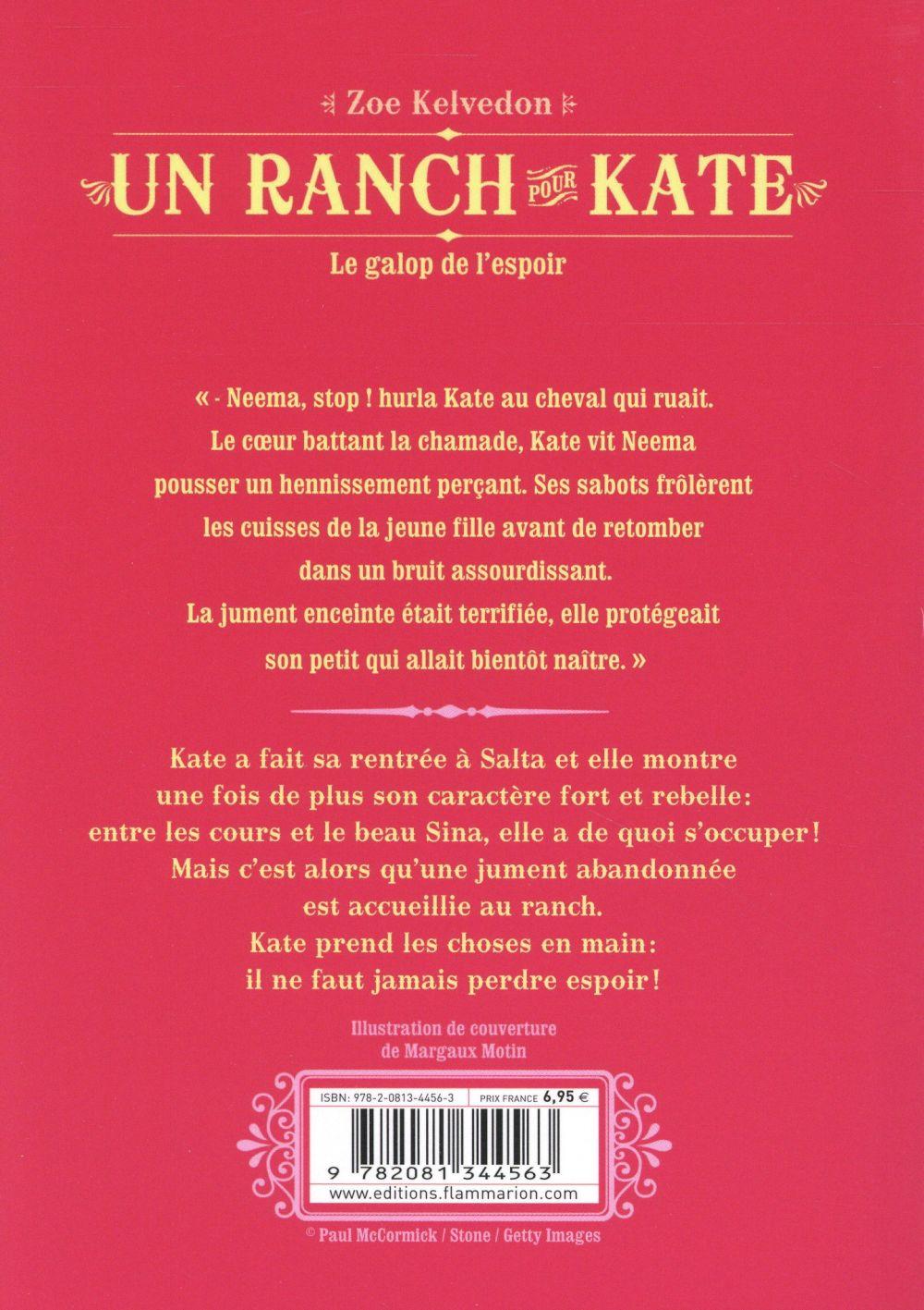 Un ranch pour Kate t.2 ; le galop de l'espoir